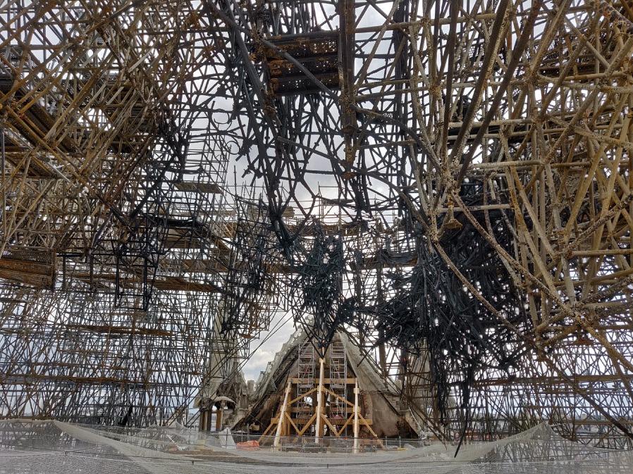 Charpente Notre Dame de Paris